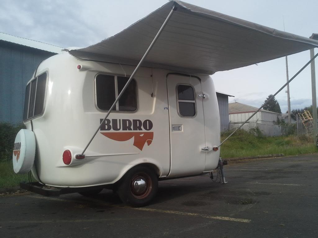 Or Sold Burro Super Clean Lots Of Upgrades Fiberglass Rv