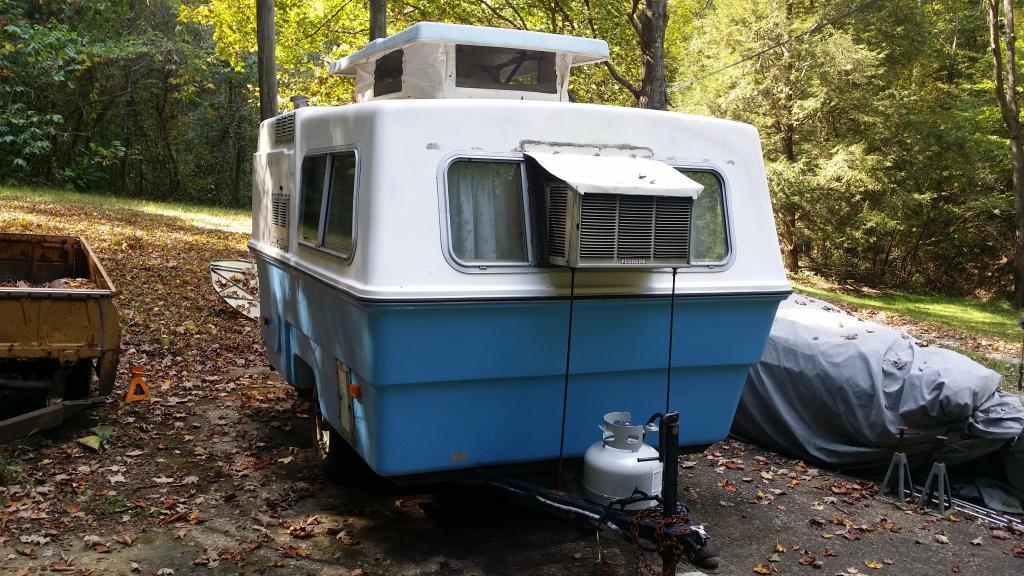 First Fiberglass Camper - Fiberglass RV