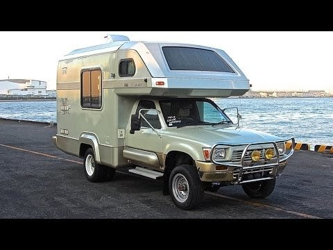 My 1991 Toyota Hilux 4x4 Global Galaxy 2 8l Diesel Camper