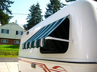 attaching awning rail - Fiberglass RV