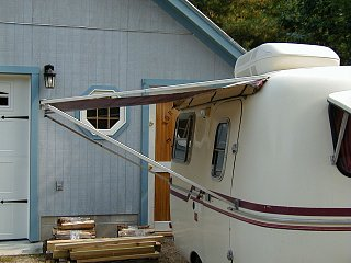 Awning for Boler. - Fiberglass RV
