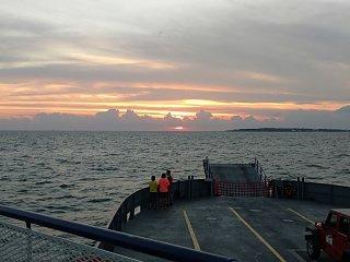 Sunset over the bay returning to Dauphin Island.jpg