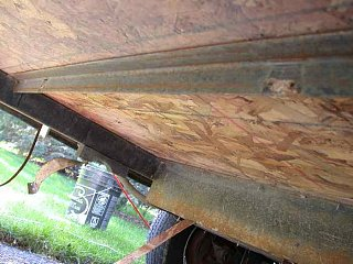 Scamp Design Flaw Floor Rot Fiberglass Rv