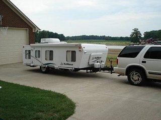 2006 Trailmanor Fiberglass Shell Hard Popup Fiberglass Rv