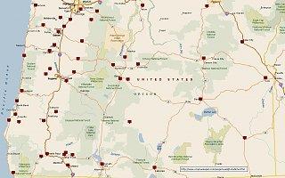 Oregon Weigh Station Map - Fibergl RV on