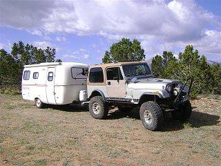 Rv Tires Near Me >> My lifted Jeep pulling my Scamp 16 - Fiberglass RV