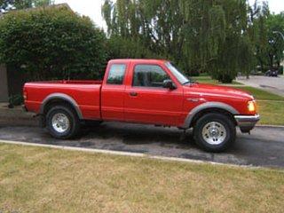 1996 ford ranger v6 towing capacity