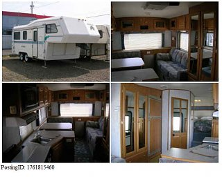 1997 Kodiak 24 Fifth Wheel Salem Oregon Fiberglass Rv