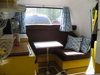 Scamp Bunk Beds Into Dinette Fiberglass Rv