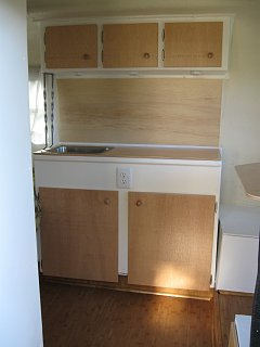 Two Scamp Projects Hardwood Floor And New Cabinet Doors