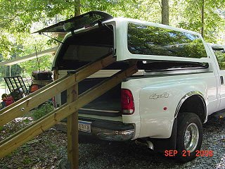 Camper Shell Lift System