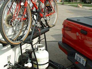 Bike Rack On Back Of Casita Fiberglass Rv
