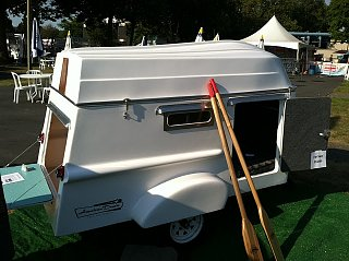 OR Trailorboat replica on craigslist - Fiberglass RV