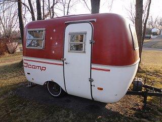 1982 Scamp - $1600 - Fiberglass RV