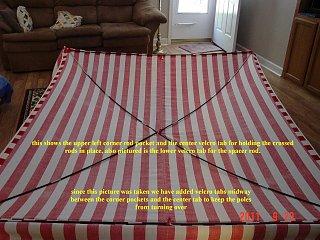 Home made Canopy for 13' Scamp - Fiberglass RV