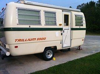 Referral: Trillium 5500 Fiberglass Camper Super Rare ...