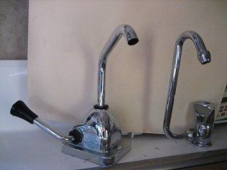 Hand Pump Fiberglass Rv