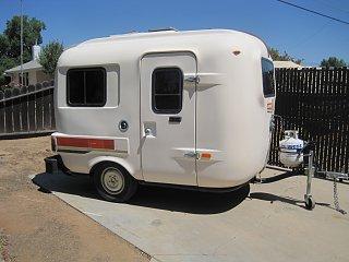 Popular 1985 Uhaul Ct13 13ft Travel Trailer Camper Time Capsule Untouched