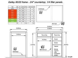 Galley module 8020 10 17 2012.JPG