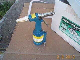 Harbor Freight Air Hydraulic Pop Rivet Tool Fiberglass Rv
