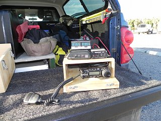 HAM antenna mounting - Fiberglass RV