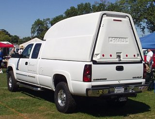 Non-Cabover Fiberglass Pickup Camper - Fiberglass RV