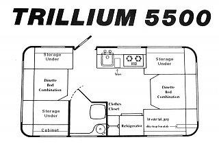 Trillium 5500 - Fiberglass RV