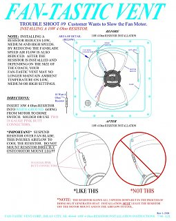 fantastic 6500r vent wiring diagram fan-tastic vent speed/noise reduction - fiberglass rv fantastic vent wiring diagram