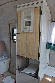 Enlarging Closet Door Opening Fiberglass Rv