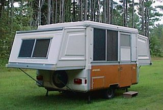 Fiberglass pop up - Fiberglass RV