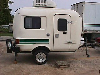 SOLD 13ft Scamp Uhaul Trailer For Sale