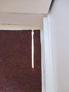 Slot in floor for Shower Drain.jpg