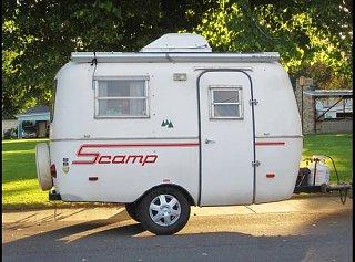 Ut Sold 1982 13 39 Scamp Fiberglass Rv