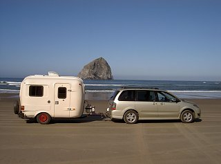 towing with GM mini van - Fiberglass RV