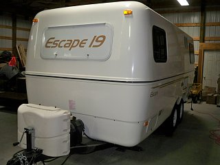 OH SOLD: 2010 19' Escape Trailer - $23,000 - Fiberglass RV