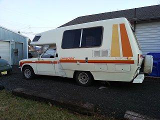 WA - 1978 toyota chinook newport - Fiberglass RV