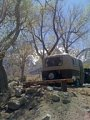 Camping in Lone Pine, California.