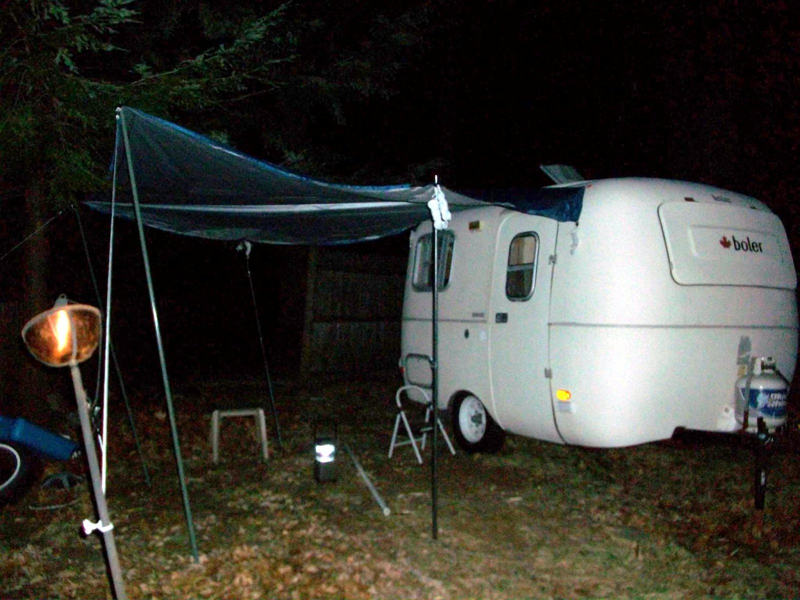 Cool Awning Option For Those 13 Foot Boler Types Fiberglass Rv Wiring A Trailer Http Forums Micture1730