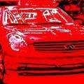 red infiniti