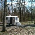 Campground at Giant City State Park - Makanda Illinois.  This is part of the Shawnee National Forest.