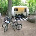 Awenda Provincial Park, Ontario, Canada campsite