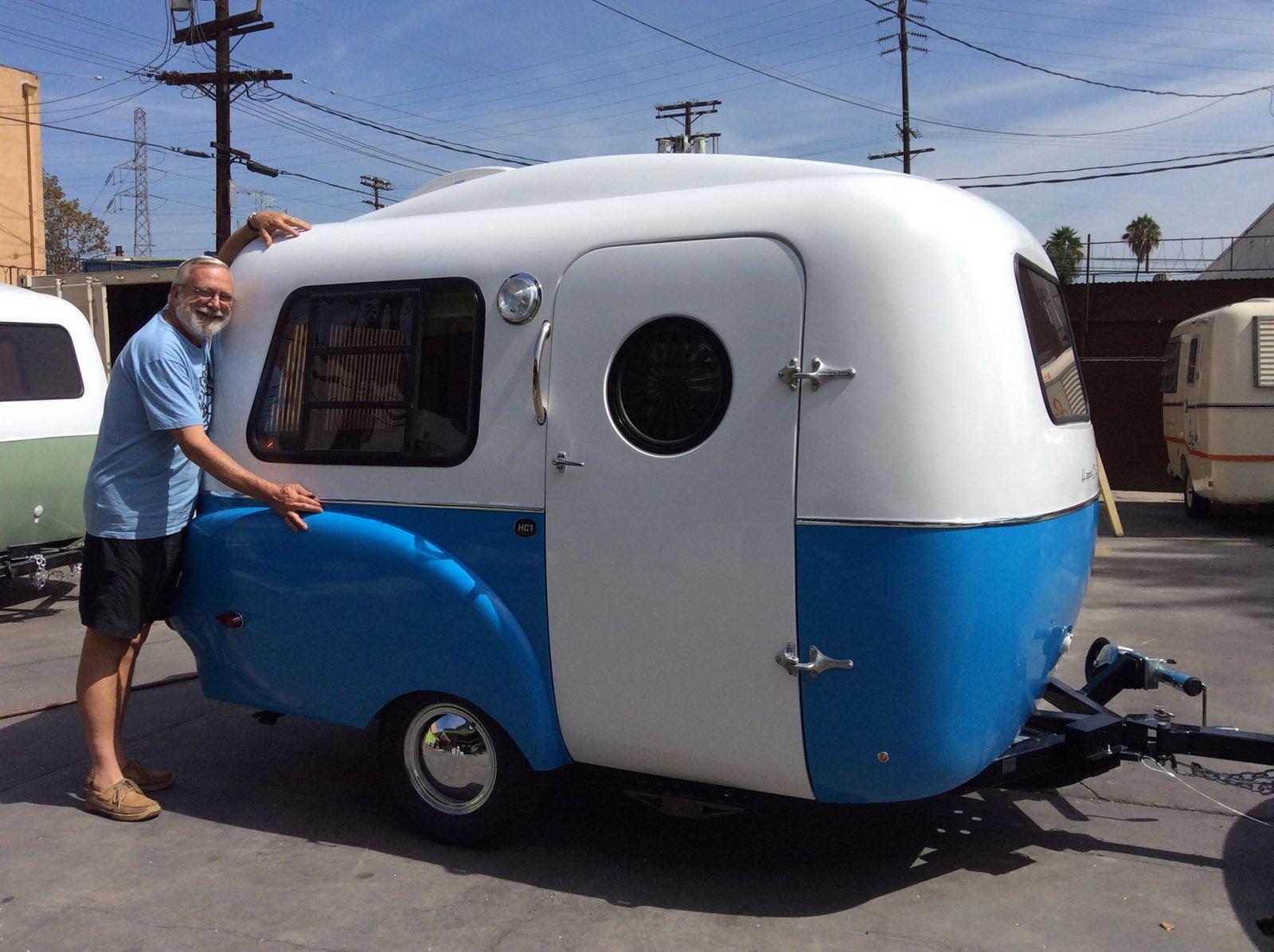 Picked up the Happier Camper HC1 - Fiberglass RV