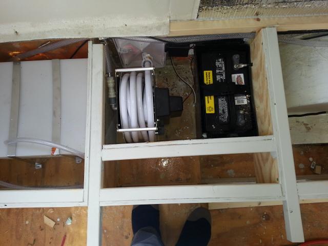 Plumbing Reconfiguration Help Fiberglass Rv