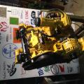 This is the motor all painted and redone ready to go back into the transporter
