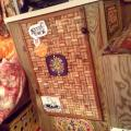 I removed my refrigerator and used a wine cork board as a door